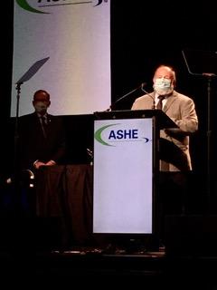 Tim Adams Wins ASHE Award